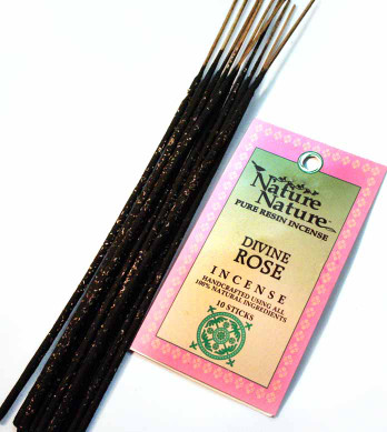 Divine Rose Resin Nature Nature Incense Sticks
