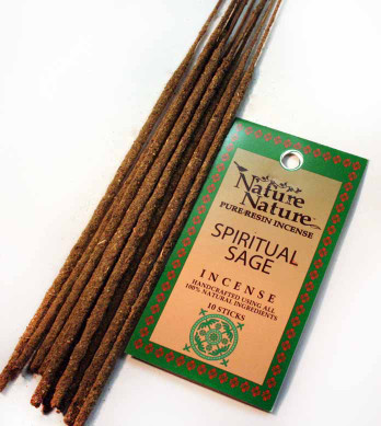Spiritual Sage Resin Nature Nature Incense Sticks