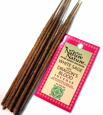 White Sage & Dragon's Blood Resin Nature Nature Incense Sticks