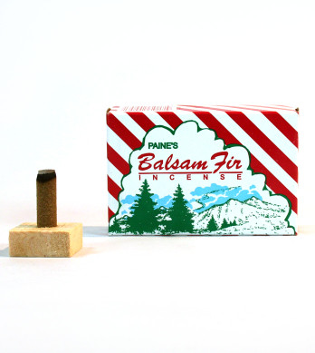 Balsam Fir (Red Box) Paines Incense
