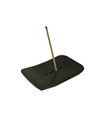 Mini Zen Black Stone Incense Burner