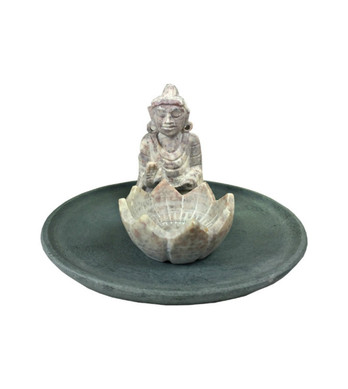 Buddha Lotus Incense Holder
