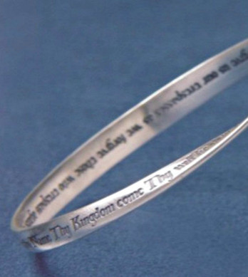 Lord's Prayer Bracelet