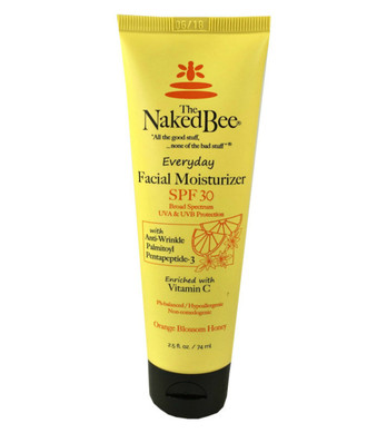 Orange Blossom & Honey SPF 30 Facial Moisturizer - The Naked Bee