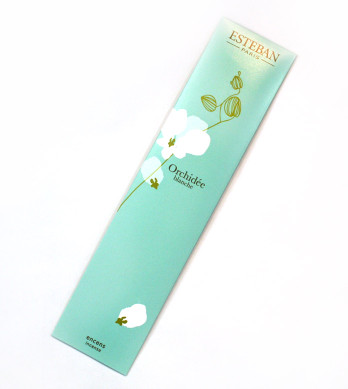 Orchidee Blanche Esteban Bamboo Style Incense
