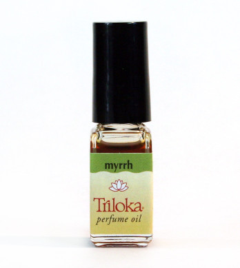 Myrrh Triloka Perfume Oil