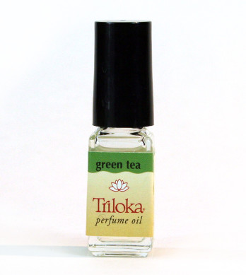 Green Tea Triloka Perfume Oil