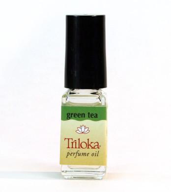 Green Tea Triloka Perfume Oil