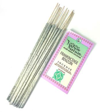 Frankincense & Benzoin Nature Nature Incense Sticks