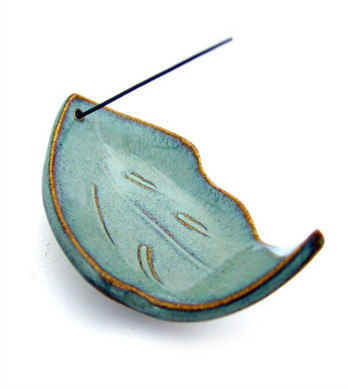 Leaf Incense Burner - Hazel