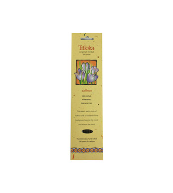 Saffron Triloka Herbal Sticks