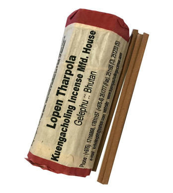 Rewa Sangtshe (Short Roll) - Kuengacholing Incense