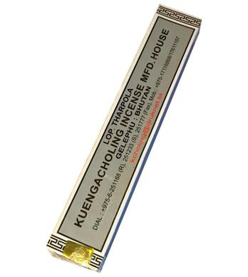Lopen Tharpola (Zimpoe) Silver Box -  Kuengacholing Incense
