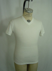 11004 M Slim Fit SS V Nk T Front photo