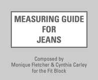 Measuring Guide for Jeans manual