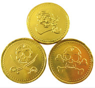 Milk Chocolate Coins 1kg - Pirate Gold (Loose Coins Approx 135)