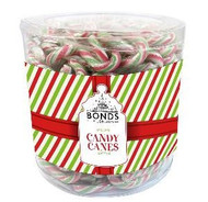 Peppermint Christmas Mini Candy Canes Tub (approx 250)