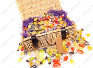 Traditional Boiled Sweets Selection Wicker Hamper