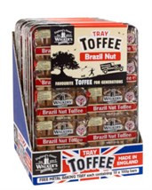 Walkers Toffee Tray 10 Individual Bars 100g each