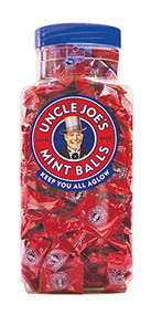 Uncle Joes Mint Balls 1.4 kg Jar