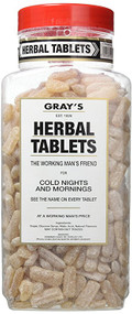 Gray's Herbal Tablets 2.72kg Jar