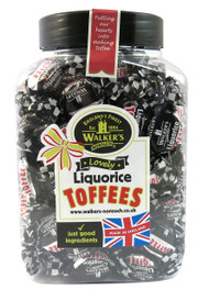 Walkers Nonsuch Liquorice Toffee Gift Jar 1.25kg