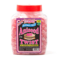 Barnetts Sugar Free - Aniseed Twist 2kg Jar