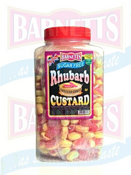 Barnetts Sugar Free - Rhubarb & Custard 2kg Jar