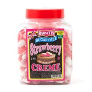 Barnetts Sugar Free - Strawberry & Crème 2kg Jar