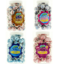 Gourmet Lollipops - Jar of 70 lollies