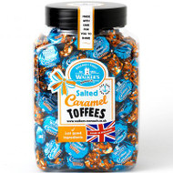 Walkers Nonsuch Salted Caramel Toffee Gift Jar 1.25kg