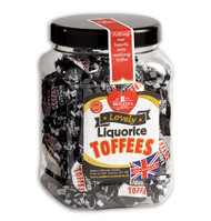 Walkers Nonsuch Liquorice Toffee Mini Gift Jar 450g