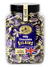 Walkers Nonsuch Chocolate Éclairs Gift Jar 1.25kg