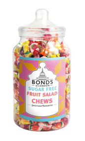 Bonds Sugar Free - Fruit Salad Chews - 1.5kg Jar