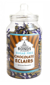 Bonds Sugar Free - Chocolate Eclairs- 2kg Jar