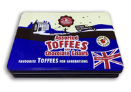 Walkers Nonsuch Assorted Toffees & Chocolate Éclairs Large Gift Tin