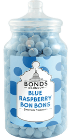 Bonds Blue Raspberry Bon Bons - 2.1kg Gift Jar