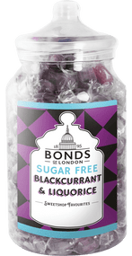 Bonds Sugar Free - Blackcurrant & Liquorice - 2kg Jar