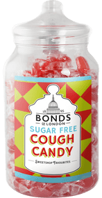 Bonds Sugar Free - Cough Candy - 2kg Jar