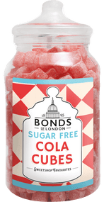 Bonds Sugar Free - Cola Cubes - 2.5kg Jar