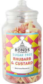 Bonds Sugar Free - Rhubarb & Custard - 2kg Jar