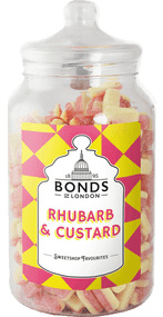 Bonds - Rhubarb & Custards - 2.5kg Jar