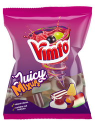 Vimto Juicy Mix Ups Share Bags 140g x 18