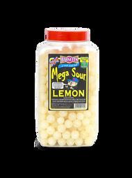 Barnetts Mega Sours - Sour Lemon - 3kg Jar