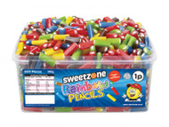 Sweetzone Tub - 1p Rainbow Pencils (600)