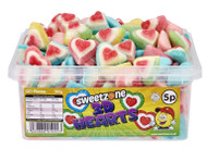 Sweetzone Tub - 5p 3D Hearts (120)