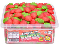 Sweetzone Tub - 5p Giant Strawberries (600)