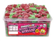 Sweetzone Tub - 5p Sour Twin Cherries (600)