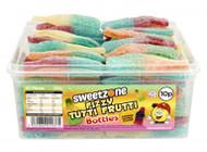 Sweetzone Tub - 10p Fizzy Tutti Frutti Bottles (60)