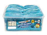 Sweetzone Tub - 10p Giant Blue Raspberry Bottles (60)